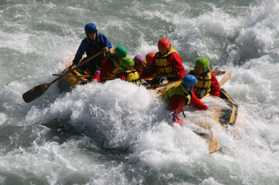 Whitewater rafting is available only minutes from Flathead Lake Inn.